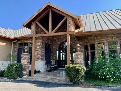 Photo for Scenic Hill Country Retreat In New Braunfels
