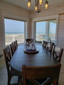 Photo for Shell Yeah! Beach House, Beach View Family Retreat w/ Pvt Baths, Pool, Boardwalk