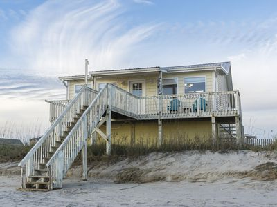 Photo for Diamond In The Rough: 3 BR / 3 BA home in Oak Island, Sleeps 7