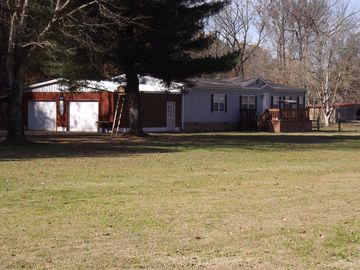 Only 7 Miles From Great Reelfoot Lake, 3BR/3BA