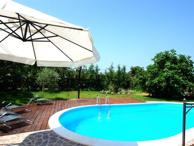 Photo for Pet friendly stone villa, near Rovinj, free bikes