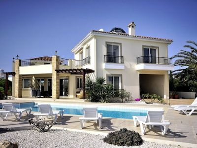 Photo for Villa Kafizi is a beautiful 4 bedroom villa, located in a peaceful cul-de-sac road in the Sea Caves