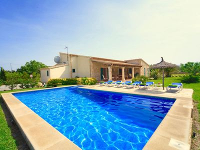 Photo for Charming Villa Pera for 6 guests, within walking distance to Mallorca beaches!