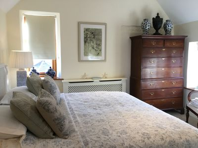 Main Master Bedroom with Super king bed and en suite with walk in shower