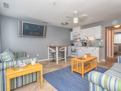 Photo for Vintage Condo at Wrightsville Beach Bridge – Walk to Dockside, Mellow, Poe's