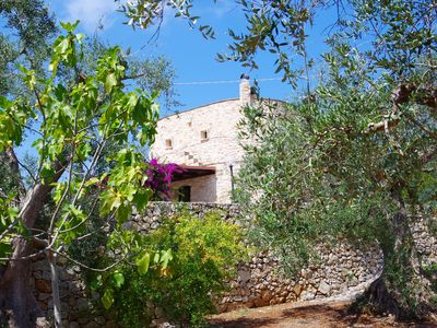 Photo for A picturesque, centuries-old holiday home in the green hills of v. Ostuni