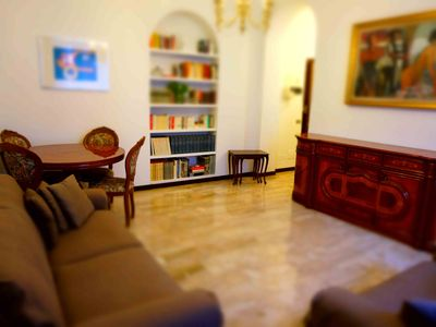 Photo for Bright apartment in a central area of ​​90 square meters close to San Babila + WiFi