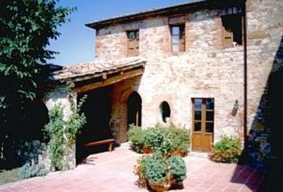 Photo for Beautiful house on Chianti hilltop with exceptional views.