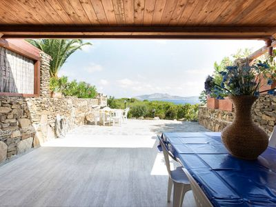 Photo for Stintino - Lovely house with garden and fantastic view on Asinara Gulf!