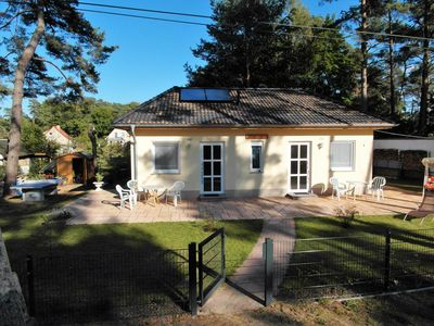 Photo for Modern bungalow half for 4 people with bicycles, table tennis and terrace