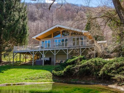 Photo for NEW! Smoky Mountain Escape w/ Hot Tub & Game Room!