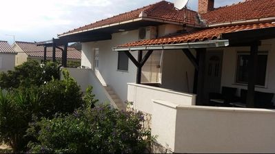 Photo for Apartment in Seget Vranjica (Trogir), capacity 2+2