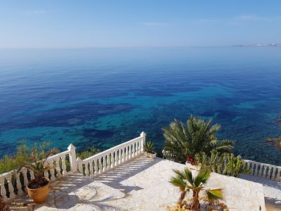 Photo for Villa - Apartment on the sea for up to 8-10 people