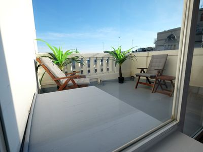 Photo for DUPLEX NEW PENTHOUSE WITH 2 TERRACES IN THE CITY CENTER FREE WIFI
