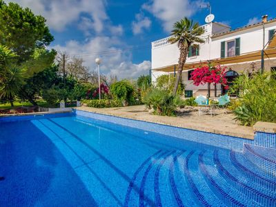 Photo for 3 bedroom Villa, sleeps 6 in Búger with Pool, Air Con and WiFi