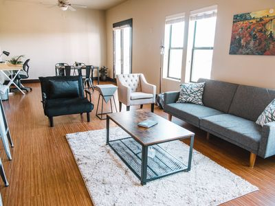 Photo for Fort Worth Quiet Loft - Walk to Magnolia Ave!