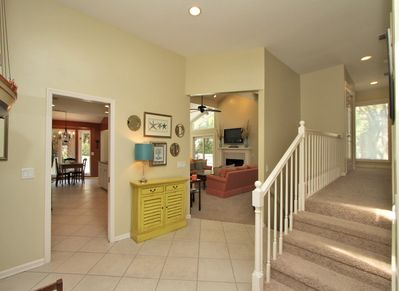 Entry Opens to Kitchen and Living Area at 1 Wren