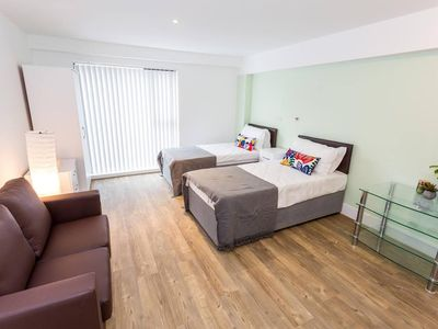 Photo for Brand new studio apartment in central Oldham