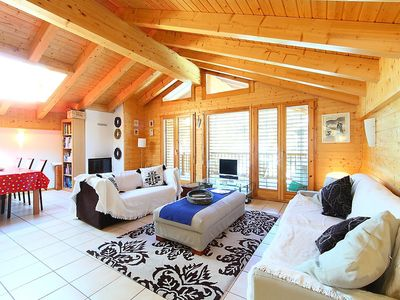 Photo for Apartment in the center of Nendaz with Lift, Parking, Internet, Washing machine (42451)