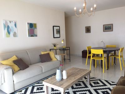 Photo for Apartment T4 any comfort with terraces and parking 5 minutes walk from the station
