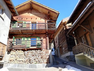 Photo for Chalet in authentic village of Val de Bagnes (Sarreyer), near Verbier
