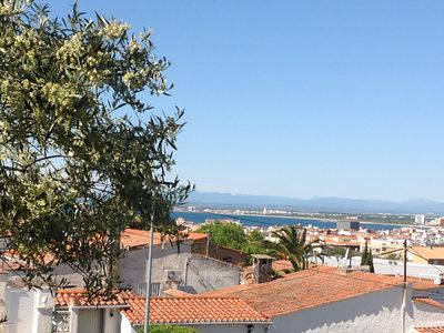 Photo for Charming house in Rosas center, sea view, independent studio, unlimited internet
