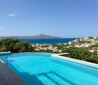 Photo for Nice stone villa with WiFI connection walking distance to Almyrida