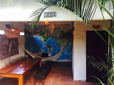Photo for Tropical Zen House with outdoor garden - a paradise for kiters!