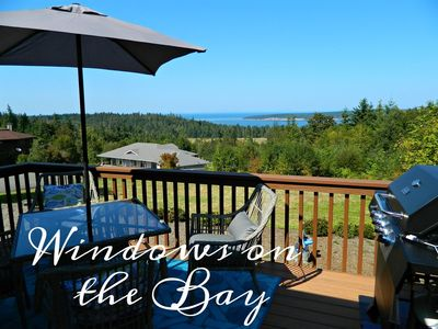 Photo for New Listing! Windows on the Bay, Comfortable luxury home with lovely water views