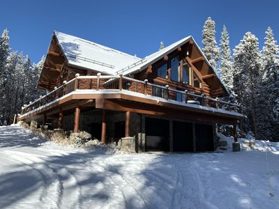 Photo for Large luxury log home just outside Breckenridge