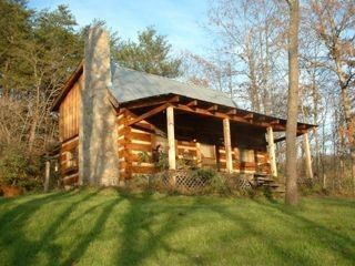 Quintessential Private Log Cabin Overlooking French Broad