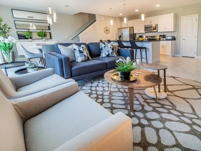 Photo for Enjoy Orlando With Us - Le Reve - Amazing Spacious 4 Beds 3.5 Baths Townhome - 6 Miles To Disney