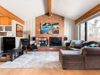 Photo for NEW! Mid Century Modern Ranch House on the Creek!