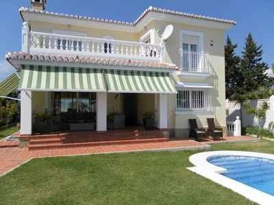 Photo for Villa with private pool.5 bedrooms.Sea views.