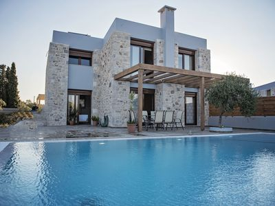Photo for Sperveri Enalio Villas – Luxury Stone Sea View Villas With Big Private Pool