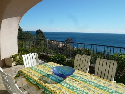 Photo for Apartment 178 m from the center of Théoule-sur-Mer with Internet, Pool, Parking, Terrace (772638)