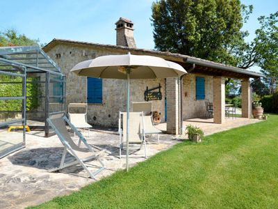Photo for 3 bedroom Villa, sleeps 6 in Toscella with Pool, Air Con and WiFi