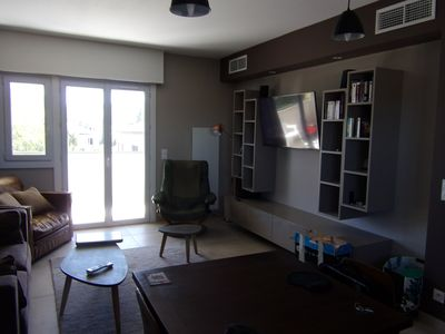 Photo for Beautiful renovated apartment with air conditioning and private parking