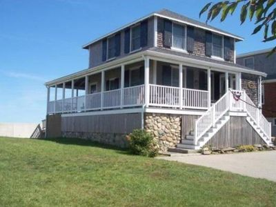 Photo for Direct Oceanfront - Panoramic Views of the Harbor, Scituate & Minot's Light
