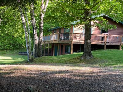 Find your Adventure at Lazy Moose Cabin on Beautiful Moose Lake/Wireless Int.