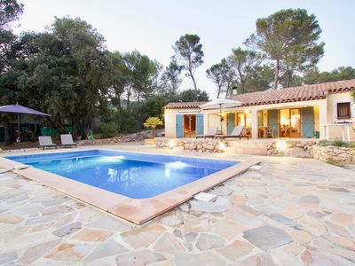 Photo for Salernes - Villa with heated pool / Villa with heated pool