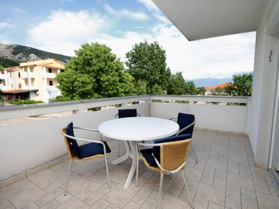 Photo for Two bedroom apartment with terrace Baška, Krk (A-5330-a)