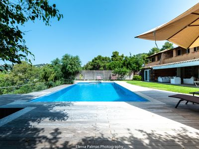 Photo for Private pool, sea views, just 300 m from the sandy beach
