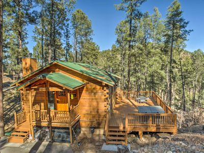 Photo for Secluded 'The Lincoln Cabin' w/Hot Tub & 3 Decks!