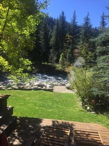Photo for True  Colorado Log home backing to the river