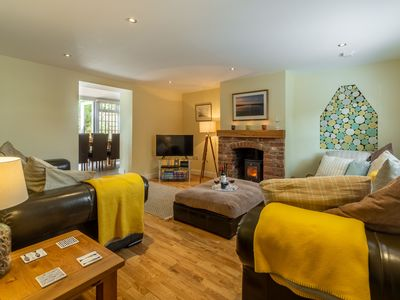 Photo for A spacious four bedroom dog friendly cottage in the charming village of Docking.