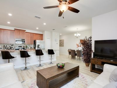 Photo for Disney On Budget - Storey Lake Resort - Beautiful Spacious 4 Beds 3 Baths Townhome - 5 Miles To Disney