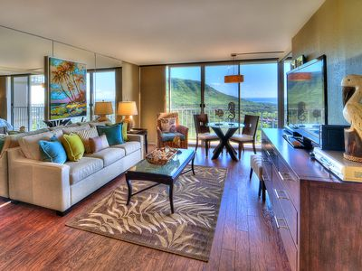 Photo for Elegantly Decorated & Upgraded Condo With Ocean & Mountain Views, Free WiFi