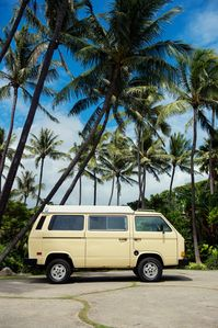 Photo for Classic VW Pop-Top 5 minutes from Honolulu Airport on Oahu