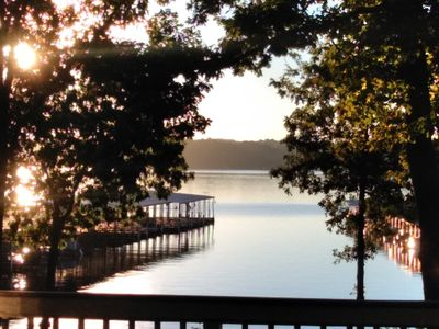Photo for Pet Freindly..Tranquilty-Peaceful- Stunning views. Lake front_ Portman Marina